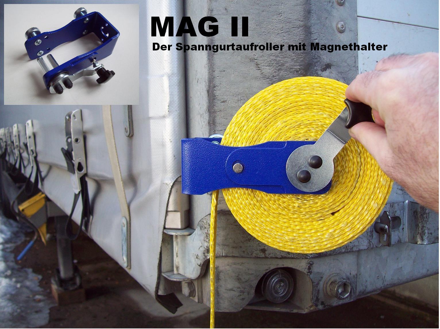 Spanngurtaufroller MAG II