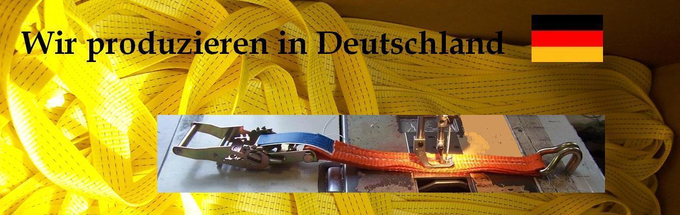 Zurrgurte in bester Qualität - Made in Germany