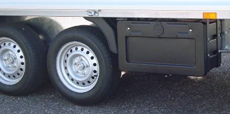 Staubox LKW - Unterbaubox für LKW